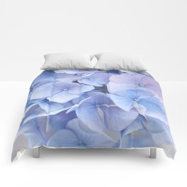 Blue Hydrangeas #3 #decor #art #society6 Comforters