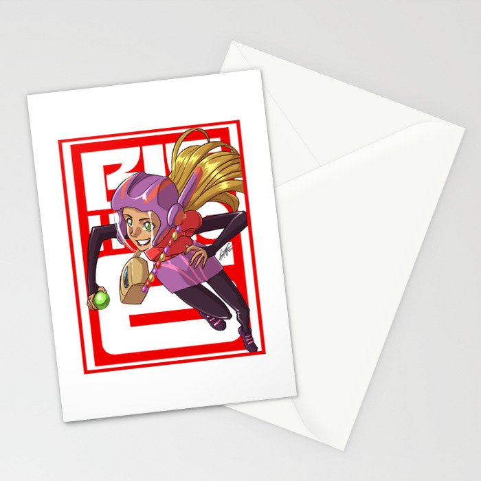 Add some honey and lemon Stationery Cards