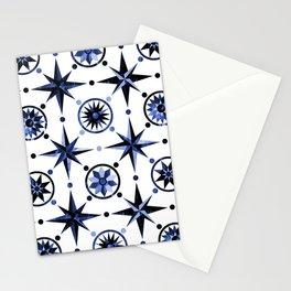 Nautica Blue Stationery Cards