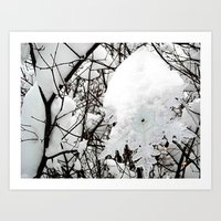 Cannibal Snow Art Print