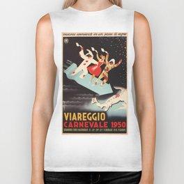 Vintage poster - Viareggio Biker Tank