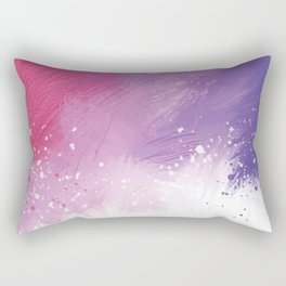 Paint Brushing Rectangular Pillow