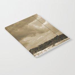 Fire Island Light In Sepia Notebook