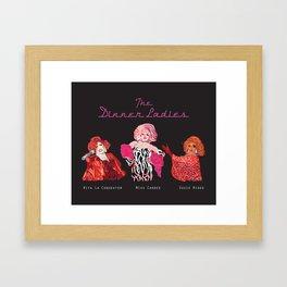 The Dinner Ladies Framed Art Print