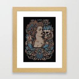 Madame Planchette Framed Art Print