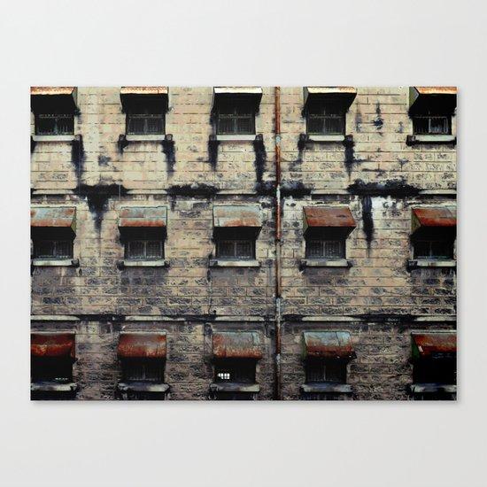 Facade of Neglect Canvas Print