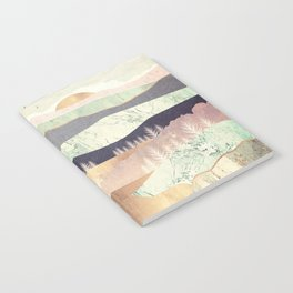 Golden Spring Reflection Notebook