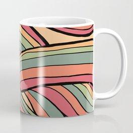 Rolling Waves Of Peachy Panic Coffee Mug