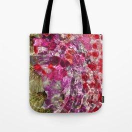 Rippled petals Tote Bag