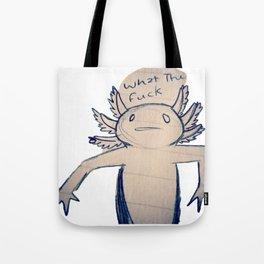 WTF Axolotl Tote Bag