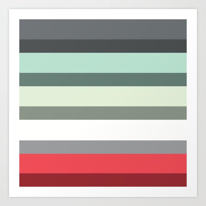 Accordion Fold Series Style E Art Print