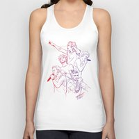 cyrilliart Tank Tops featuring OTRA by Cyrilliart