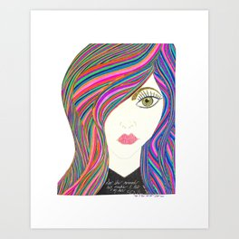 Jaja Art Print