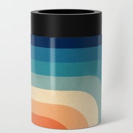 Retro 70s Color Palette III Can Cooler