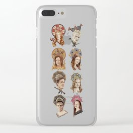 The Saints of Sunnydale  Clear iPhone Case