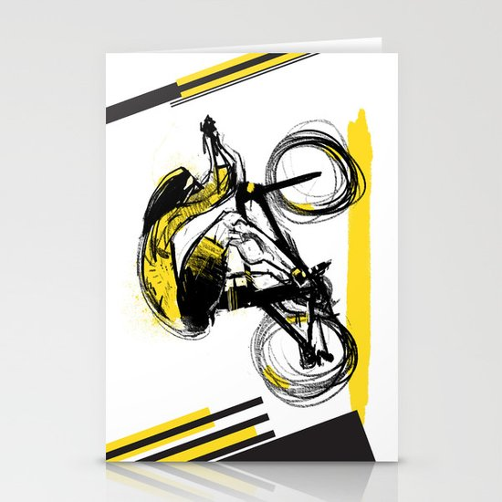 The Time Trial Stationery Cards