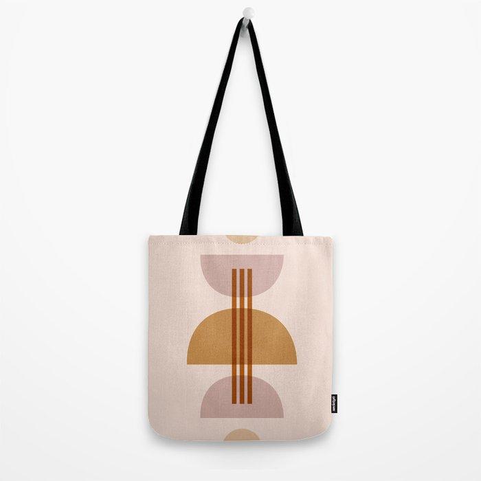 Amber Abstract Half Moon 1 Tote Bag