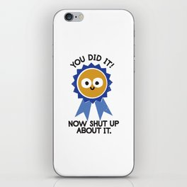 Boast Likely to Succeed iPhone Skin