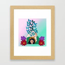 No one is free until we are all free Framed Art Print