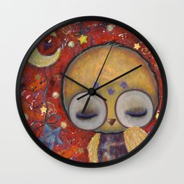 Ophelia's Nocturne Wall Clock