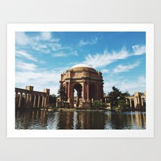 Palace of Fine Arts Art Print