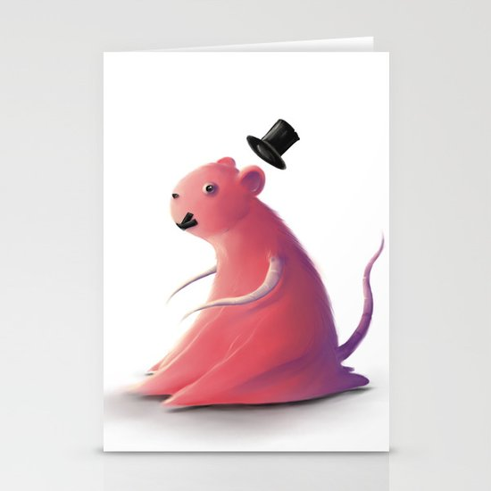 Test subject Stationery Cards