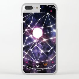 Gods Compass Clear iPhone Case