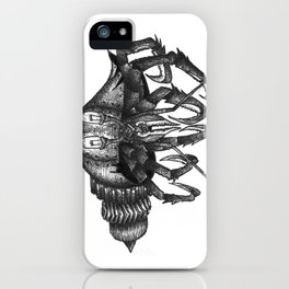 Steampunk angry crab iPhone Case