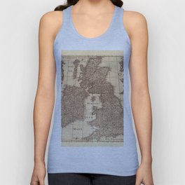 Map Of Great Britain 1631 Unisex Tank Top