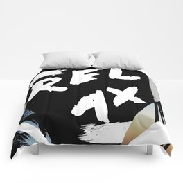 Relax Tropical Abstact Comforters