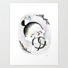 Pretzel Art Print