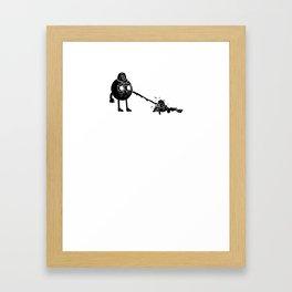 Le Stick Framed Art Print