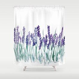 Larkspurs Shower Curtain