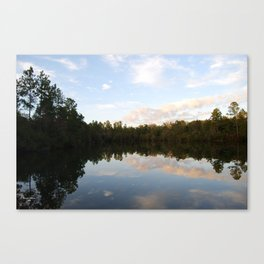 Serenity on the Pond Canvas Print