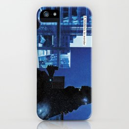 how do you know when to leave and when to stay? iPhone Case