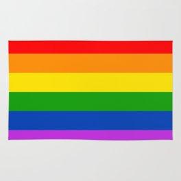 Philadelphia pride flag Rug