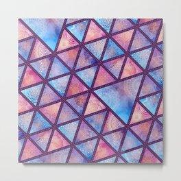 triangles decoration Metal Print