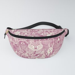 canadian animals cherry pearl Fanny Pack