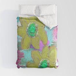 FLORAL MASHUP Comforters