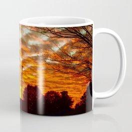 Pretty Florida Fiery Sunset Coffee Mug