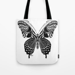 Butterfly Spirit Animal Tote Bag