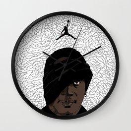 SKI MASK J Wall Clock
