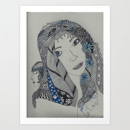 Maiden, Mother and Crone Art Print