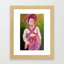 La Juana Gallo Framed Art Print