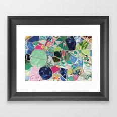 Tiling with pattern 6 Framed Art Print