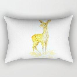 Gambade la biche carnivore Rectangular Pillow