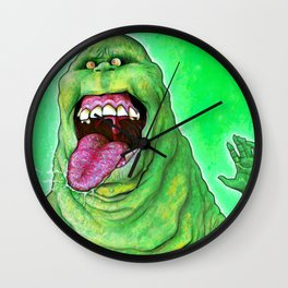 Slimer (Ghostbusters) Wall Clock