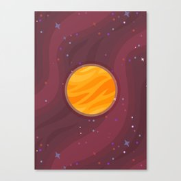 Venus, Where It's Supa Hot Canvas Print