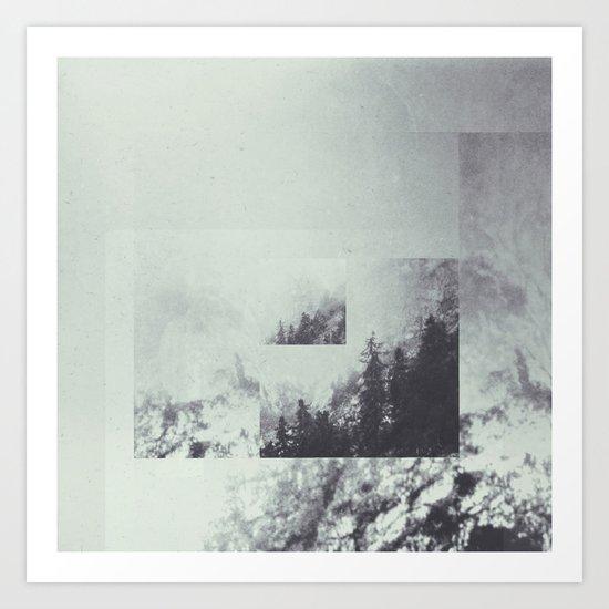 Fractions A59 Art Print