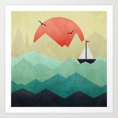 Ocean Adventure Art Print
